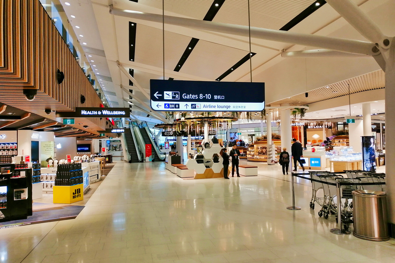 Sydney Airport, also known as Kingsford Smith Airport, is located in Mascot suburb, 8 km south of Sydney city center.